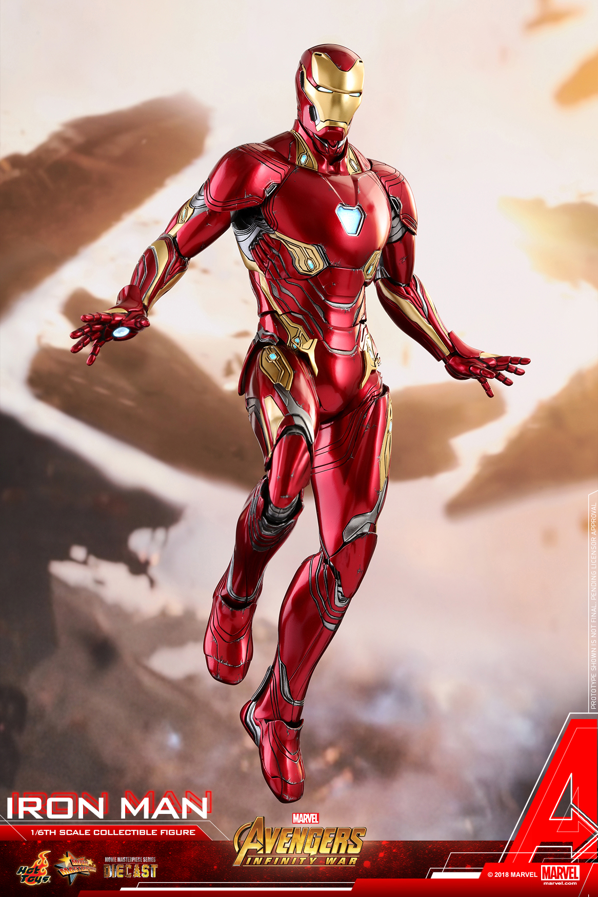 Hot Toys - Avengers 3 - Iron Man (Diecast) collectible figure_PR13.jpg