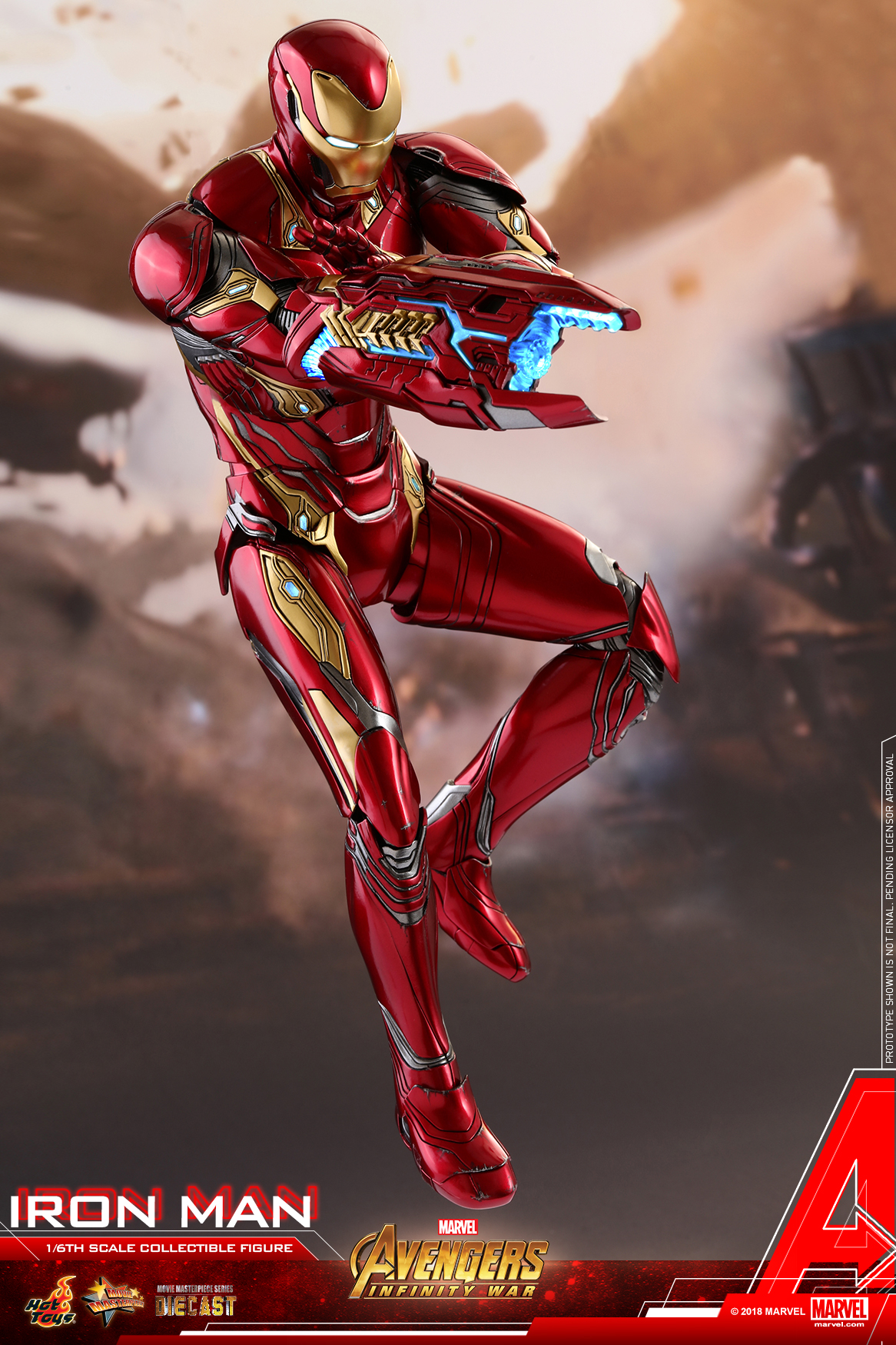 Hot Toys - Avengers 3 - Iron Man (Diecast) collectible figure_PR10.jpg