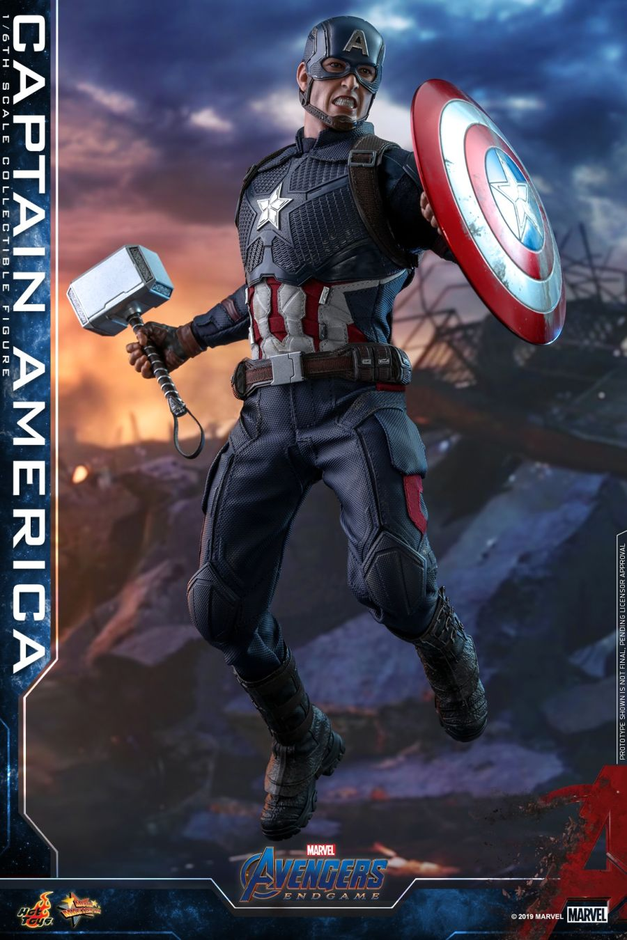 Hot Toys - Avengers 4 - Captain America collectible figure_PR27.jpg