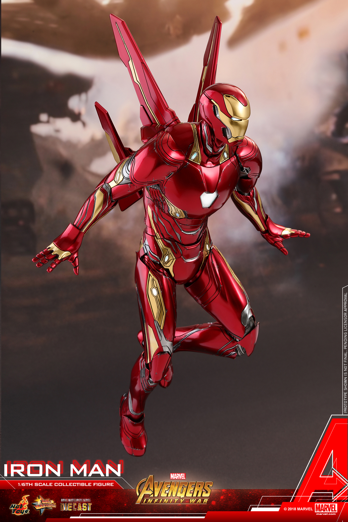 Hot Toys - Avengers 3 - Iron Man (Diecast) collectible figure_PR08.jpg