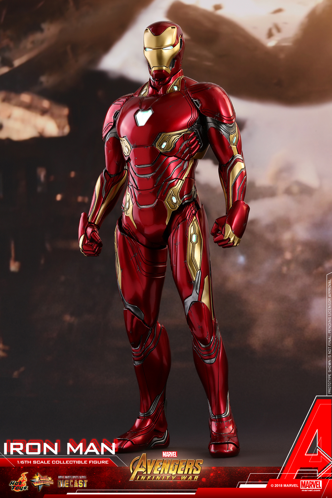 Hot Toys - Avengers 3 - Iron Man (Diecast) collectible figure_PR16.jpg