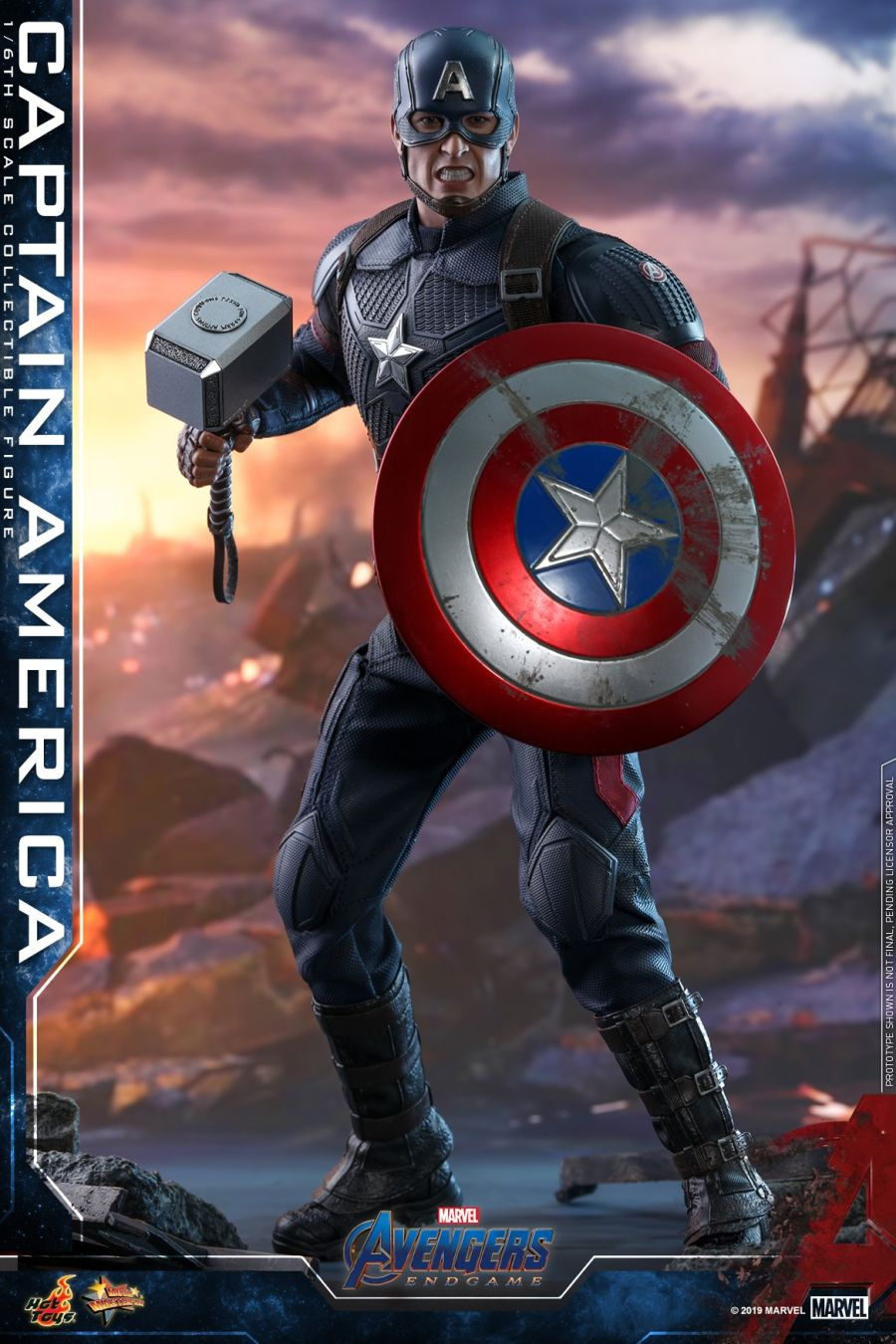 Hot Toys - Avengers 4 - Captain America collectible figure_PR28.jpg
