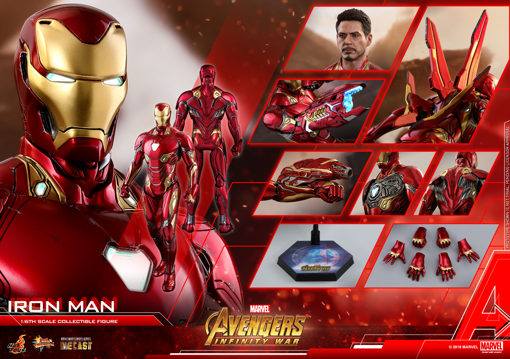 Hot Toys - Avengers 3 - Iron Man (Diecast) collectible figure_PR29.jpg