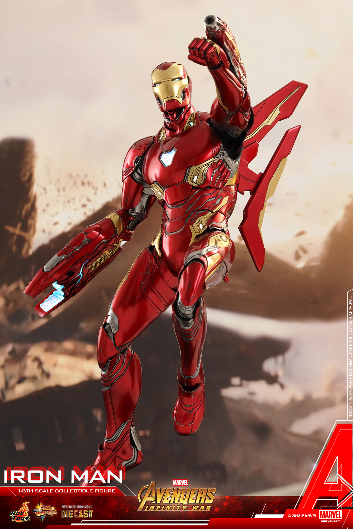Hot Toys - Avengers 3 - Iron Man (Diecast) collectible figure_PR03.jpg
