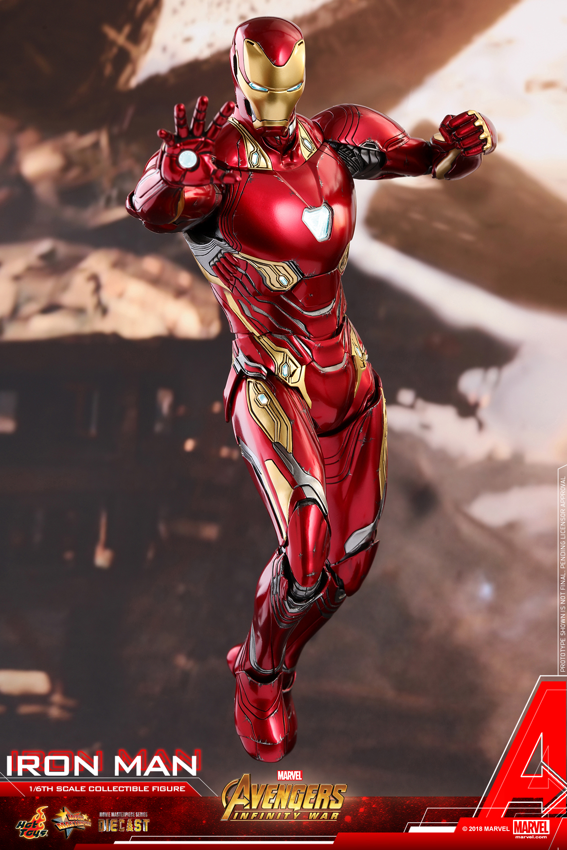 Hot Toys - Avengers 3 - Iron Man (Diecast) collectible figure_PR12.jpg