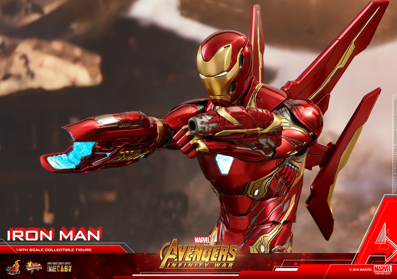 Hot Toys - Avengers 3 - Iron Man (Diecast) collectible figure_PR21.jpg