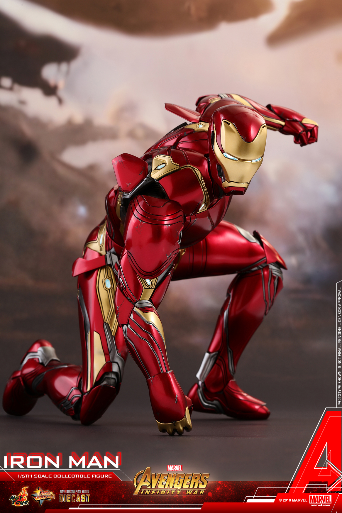 Hot Toys - Avengers 3 - Iron Man (Diecast) collectible figure_PR17.jpg