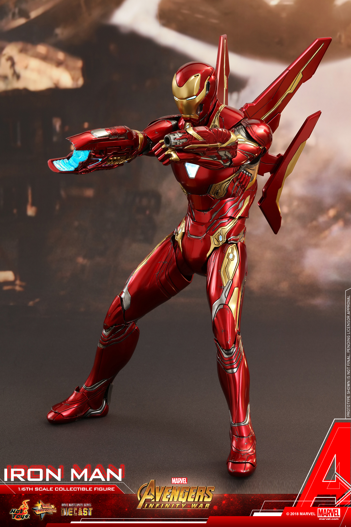 Hot Toys - Avengers 3 - Iron Man (Diecast) collectible figure_PR07.jpg