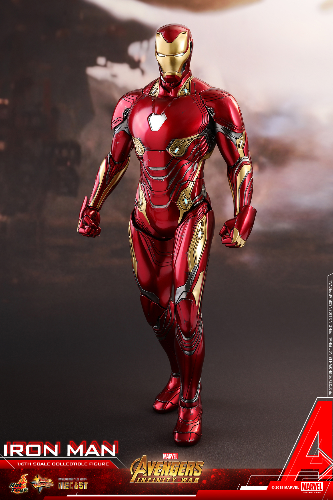 Hot Toys - Avengers 3 - Iron Man (Diecast) collectible figure_PR15.jpg