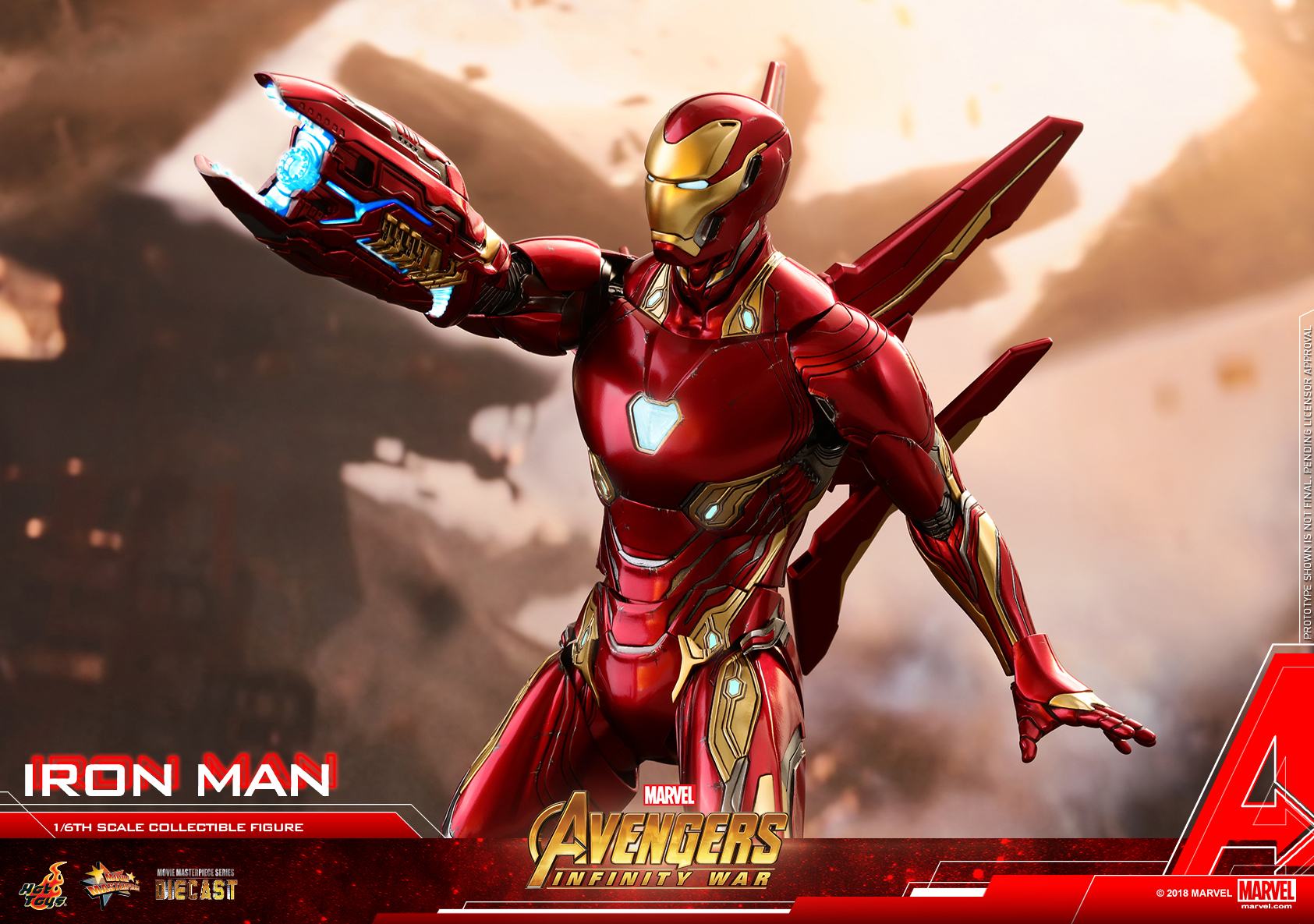 Hot Toys - Avengers 3 - Iron Man (Diecast) collectible figure_PR20.jpg