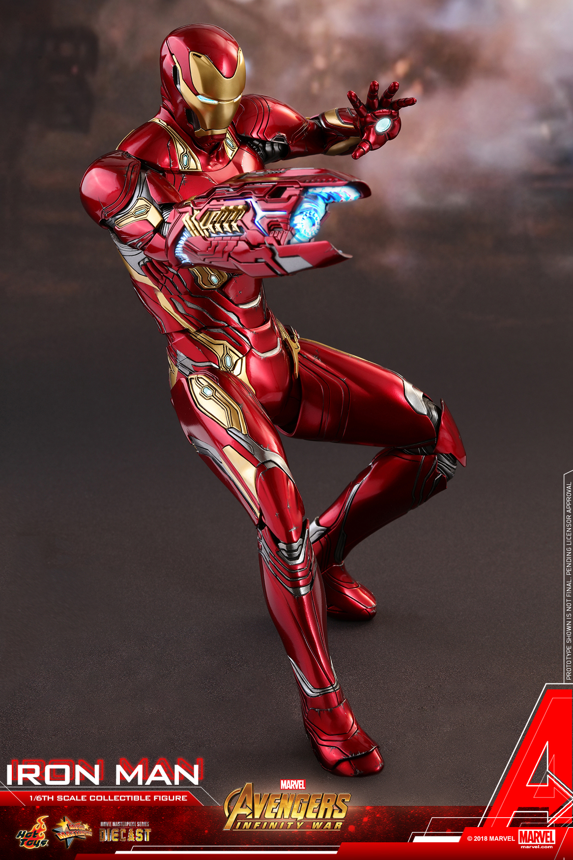 Hot Toys - Avengers 3 - Iron Man (Diecast) collectible figure_PR09.jpg